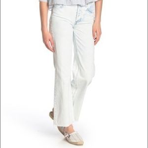 Free people High Rise Straight Flare Jeans
